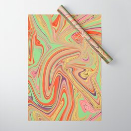 Psychedelic Marble Wrapping Paper