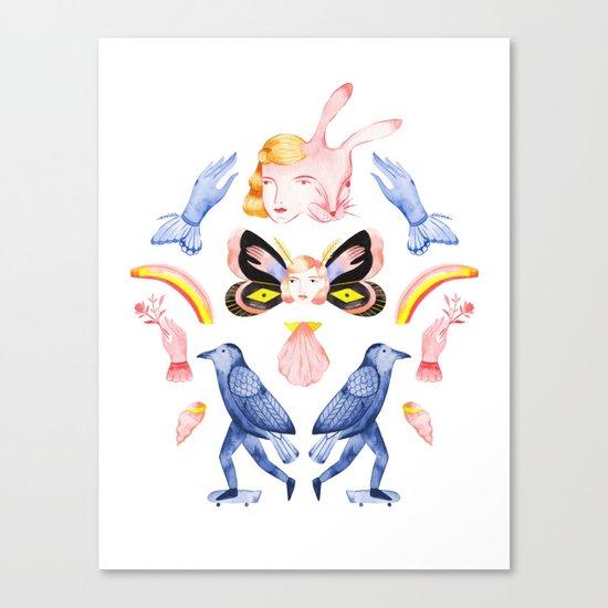 Rituals I Canvas Print