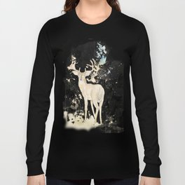 Deer and butterfly Long Sleeve T-shirt