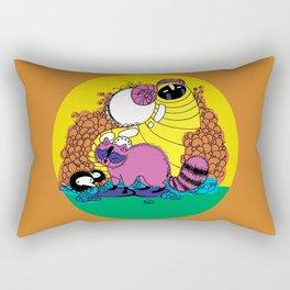 Whats goin' on Rectangular Pillow