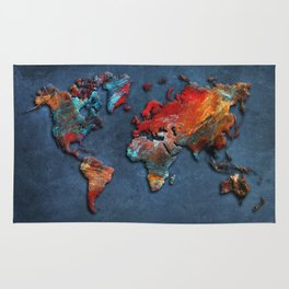 World Map 2020 Rug