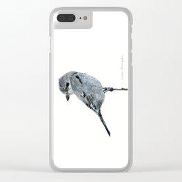 Northern Shrike by Teresa Thompson Clear iPhone Case