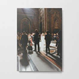 Wedding at St. Peter's Basilica, Vatican, Rome, Italy Metal Print