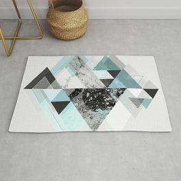 Graphic 110 (Turquoise Version) Rug