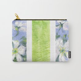 Fleurs blanches Carry-All Pouch