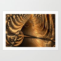 theatre Art Prints featuring Theatre by Maria Forrester