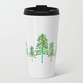 Pine Trees – Green Palette Travel Mug