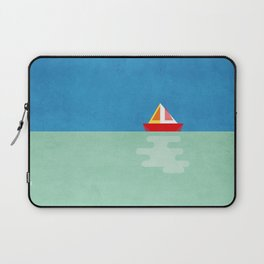 SOMETIMES YOU JUST NEED A BOAT - BLUE/GREEN/RED/YELLOW Laptop Sleeve