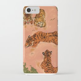 Tiger Beach iPhone Case