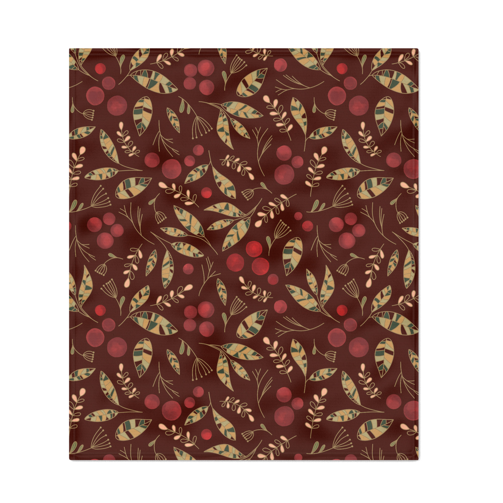 Red_Currants_Throw_Blanket_by_melissalowry