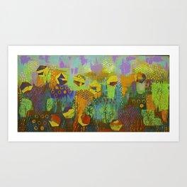 Landscape of Happiness Art Print