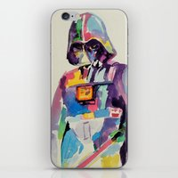 vader iPhone & iPod Skins featuring vader by kuri
