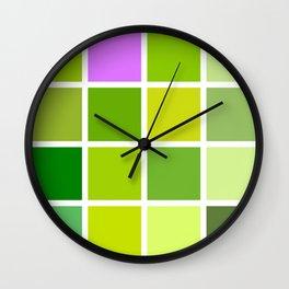 spring story Wall Clock