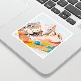 glass mountains Sticker