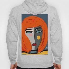 Mysterious Girl Portrait Stefania Style Art Hoody