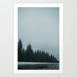 Cascading Calls Art Print