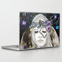 luna Laptop & iPad Skins featuring Luna by Jenndalyn