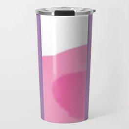 Expressive Windows of Purple Travel Mug
