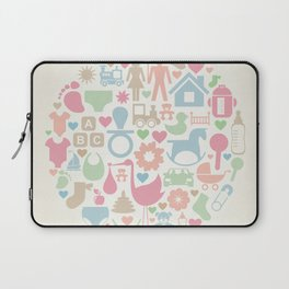 Baby a sphere Laptop Sleeve