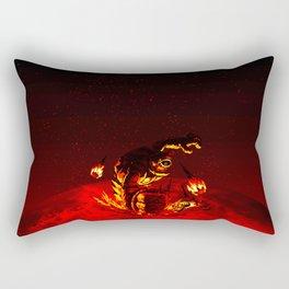 zelda fight Rectangular Pillow