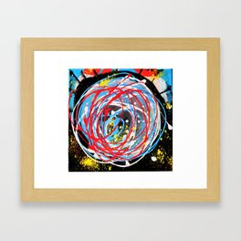 Universo Framed Art Print