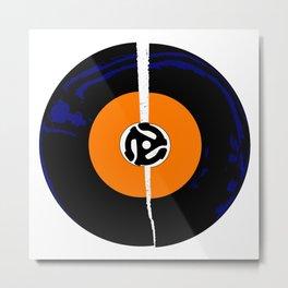 Broken 45 RPM Single Record Metal Print