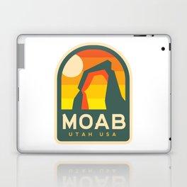 Moab Utah Patch Laptop & iPad Skin