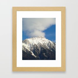 Smoky mountain Framed Art Print