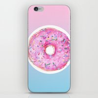 donut iPhone & iPod Skins featuring DONUT!!!! by annelise johnson