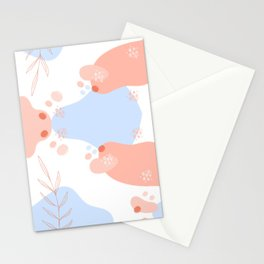 Pastel Pop in Coral Stationery Cards