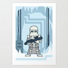 EP5 : Snowtrooper Art Print