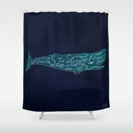 Sea To Sea Shower Curtain