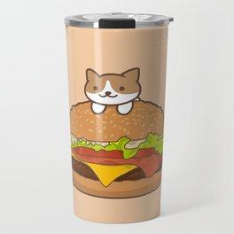 Neko Burger Travel Mug