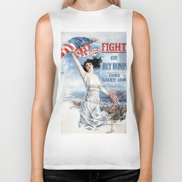 Fight or Buy Bonds Biker Tank