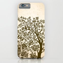 The Fruit of the Spirit (I) iPhone Case