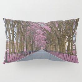 Pink Mall Promenade Pillow Sham