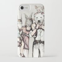 family iPhone & iPod Cases featuring Family by RiversAreDeep
