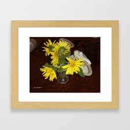 Margaritas Framed Art Print