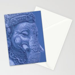 Ganesha blue Stationery Cards