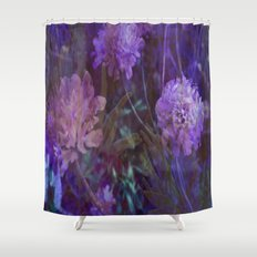 sea flowers Shower Curtain