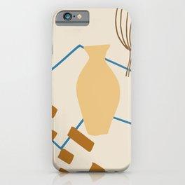 Vase Minimalist Abstract iPhone Case