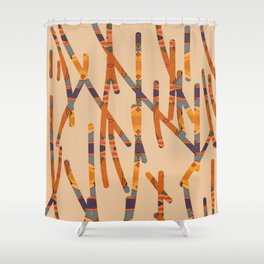 intersect 2 Shower Curtain