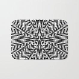 Optical illusion pattern Bath Mat