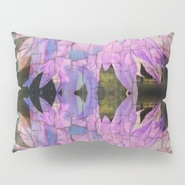 Reflective Crackling Lonesome Flower Pillow Sham