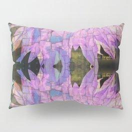 Reflective Crackling Lonesome Flower Pillow Sham