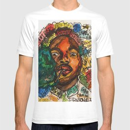 chance the rapper,coloring book,shirt,lyrics,music,art,wall art,cool,dope,colorful,painting,fan art T-shirt