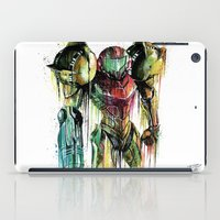 samus iPad Cases featuring Samus Aran by David Lakin