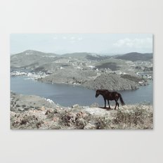 patmos scene Canvas Print