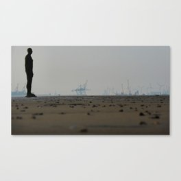 Crosby Beach Canvas Print