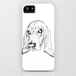 Ain't Nothin' but a Hound Dog iPhone Case